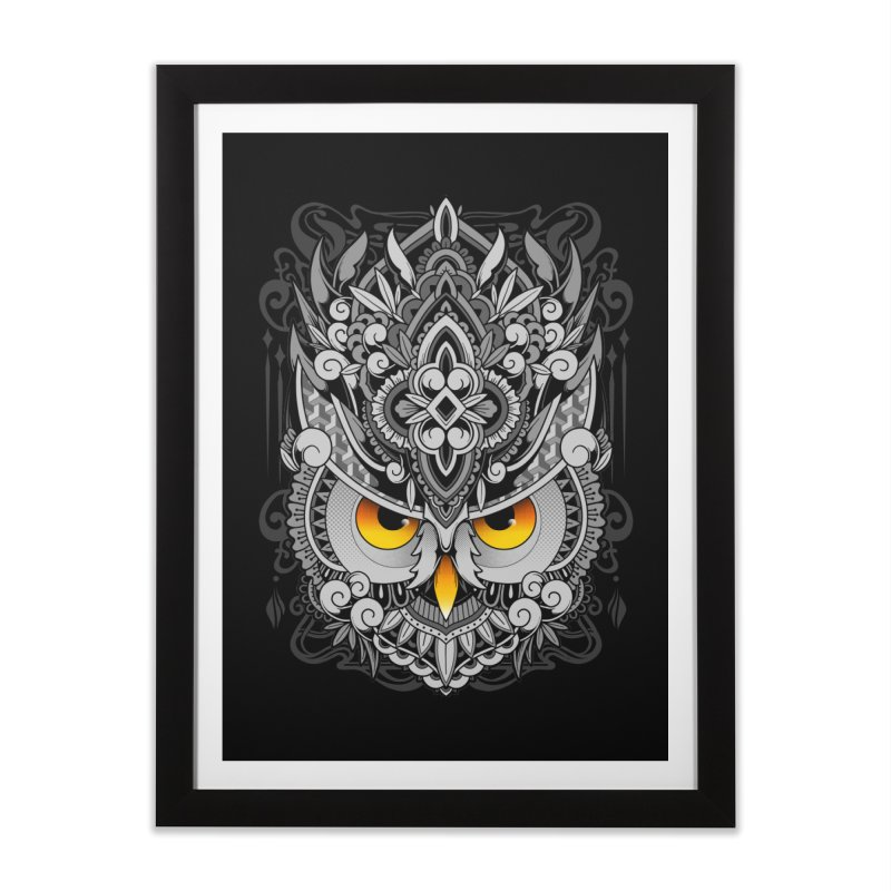 Wisdom Home Framed Fine Art Print by godzillarge's Artist Shop
