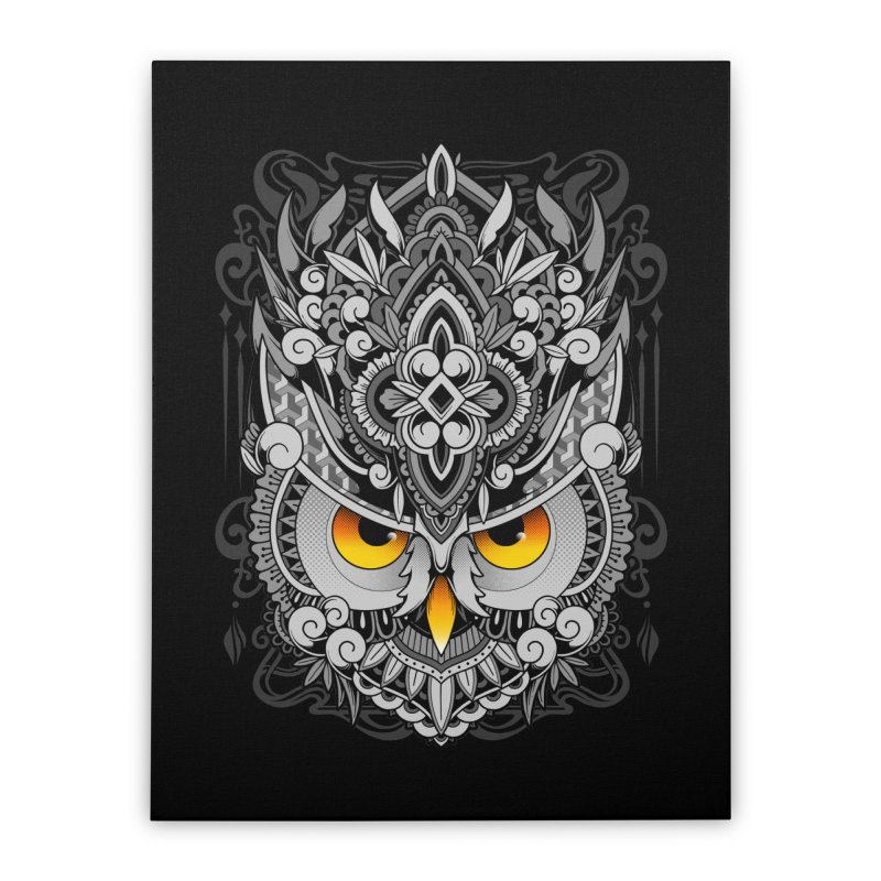Wisdom Home Stretched Canvas by godzillarge's Artist Shop