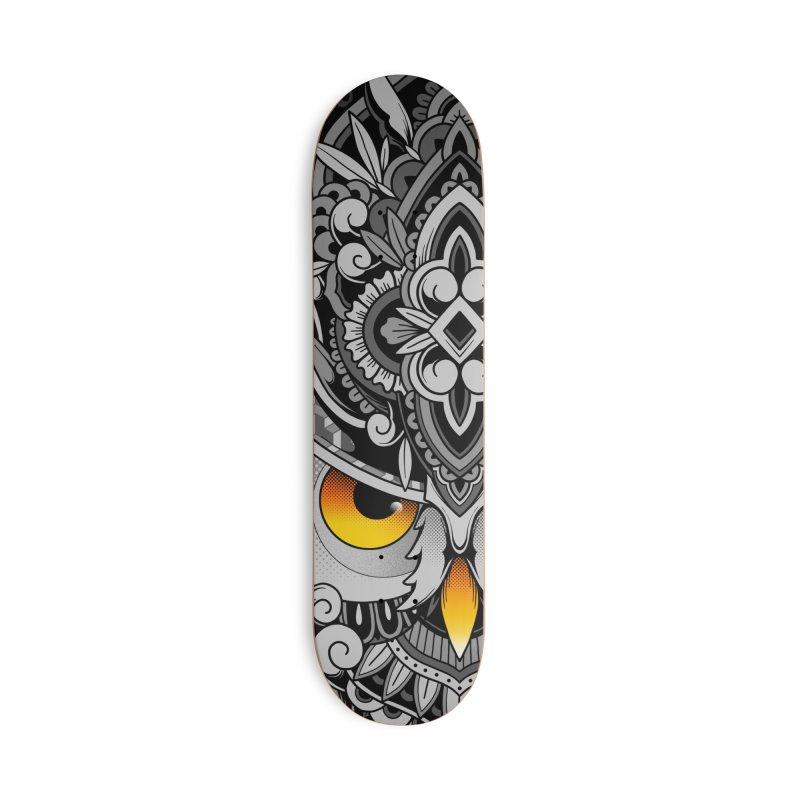 Wisdom Accessories Skateboard by godzillarge's Artist Shop