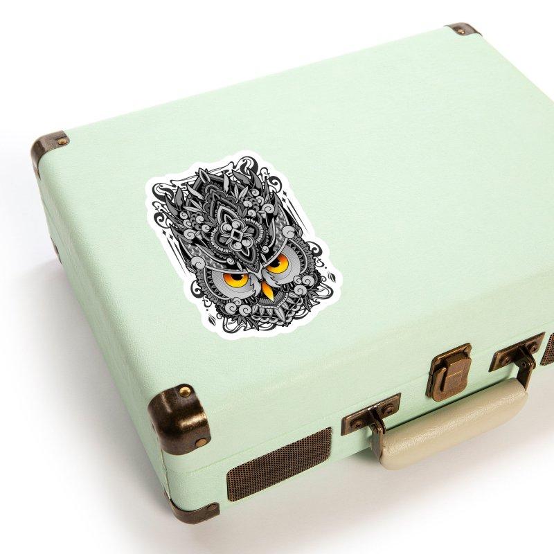 Wisdom Accessories Sticker by godzillarge's Artist Shop
