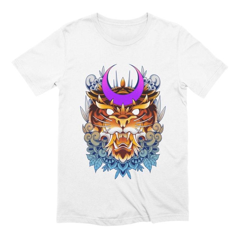 Tiger Moon Men's T-Shirt by godzillarge's Artist Shop
