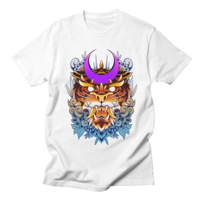 Tiger Moon Men's T-Shirt by godzillarge's Artist Shop
