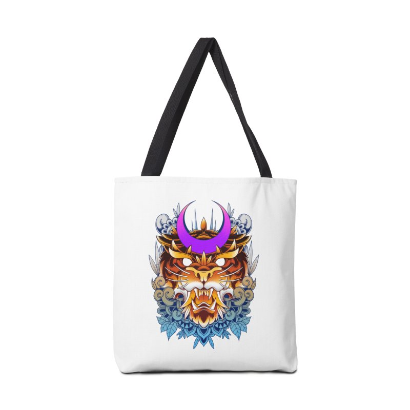 Tiger Moon Accessories Bag by godzillarge's Artist Shop