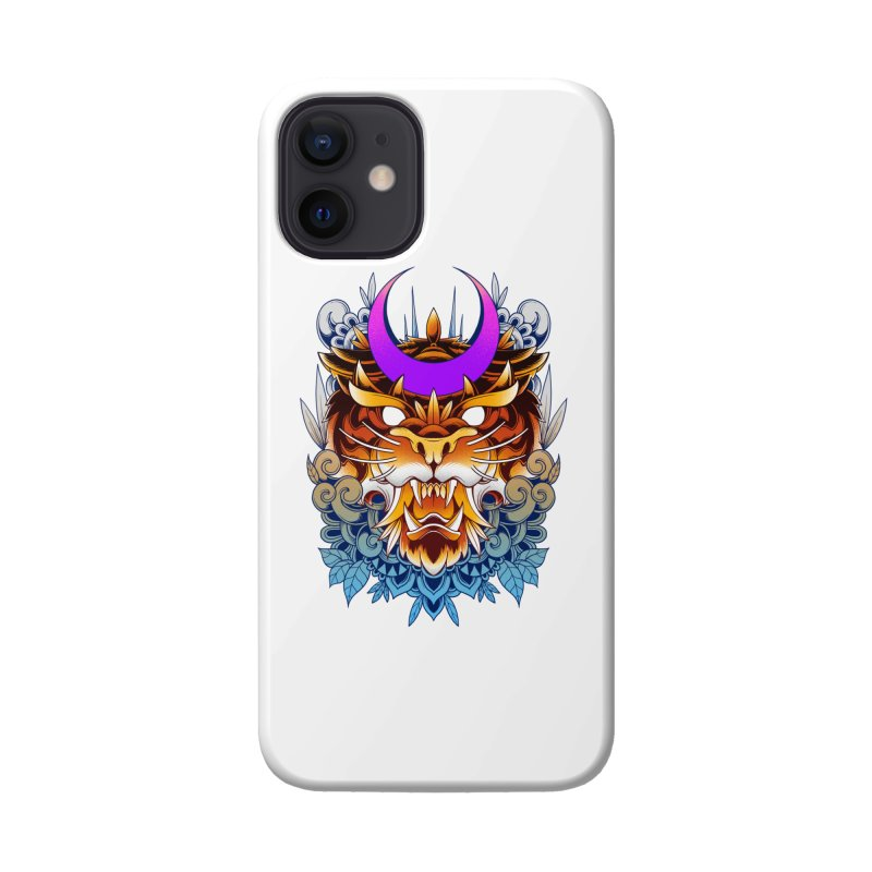 Tiger Moon Accessories Phone Case by godzillarge's Artist Shop