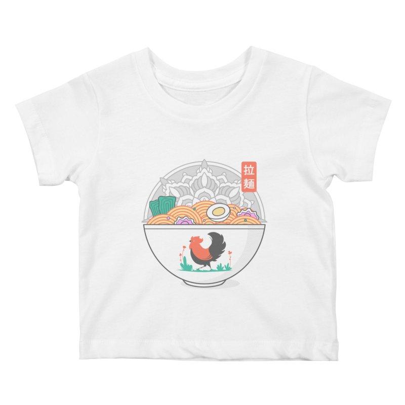 Sacred Ramen Kids Baby T-Shirt by godzillarge's Artist Shop
