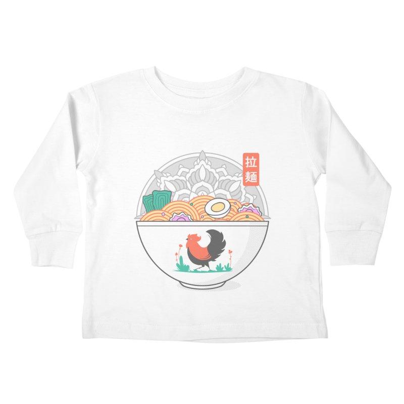 Sacred Ramen Kids Toddler Longsleeve T-Shirt by godzillarge's Artist Shop