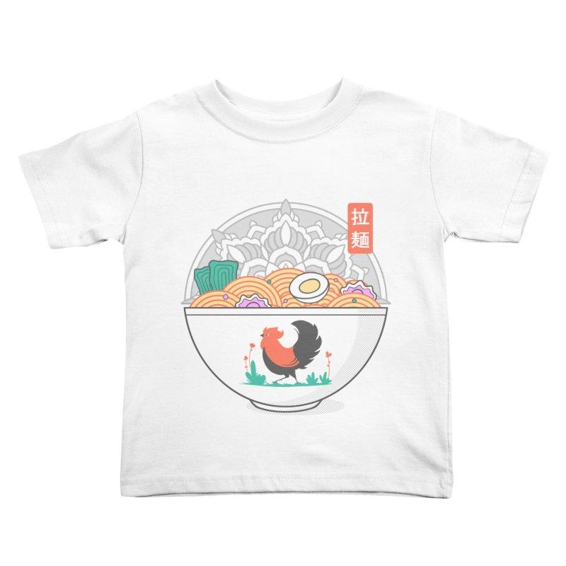 Sacred Ramen Kids Toddler T-Shirt by godzillarge's Artist Shop