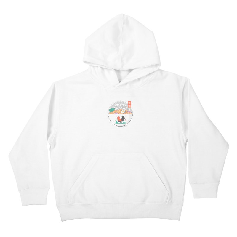 Sacred Ramen Kids Pullover Hoody by godzillarge's Artist Shop