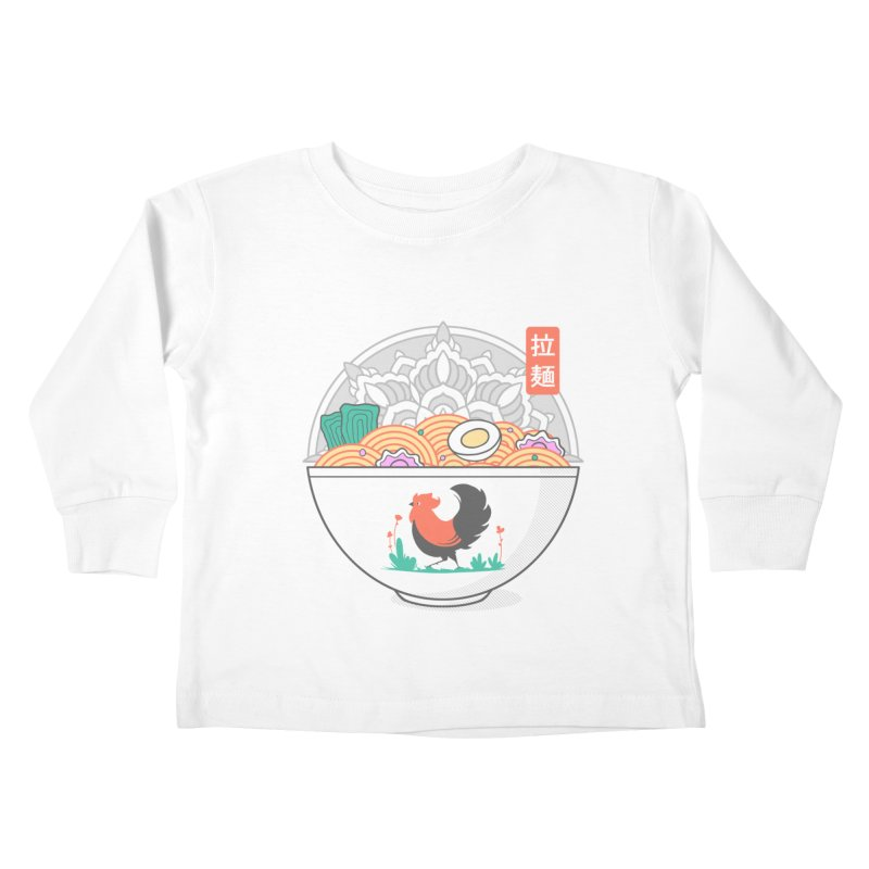 Sacred Ramen Kids Toddler Longsleeve T-Shirt by godzillarge's Artist Shop