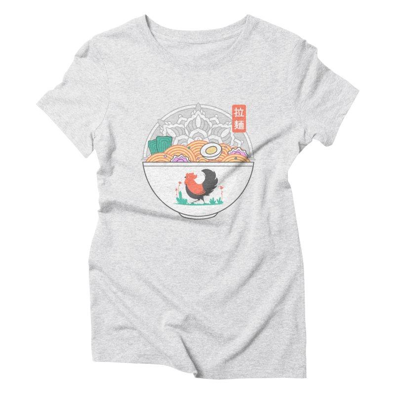 Sacred Ramen Women's T-Shirt by godzillarge's Artist Shop