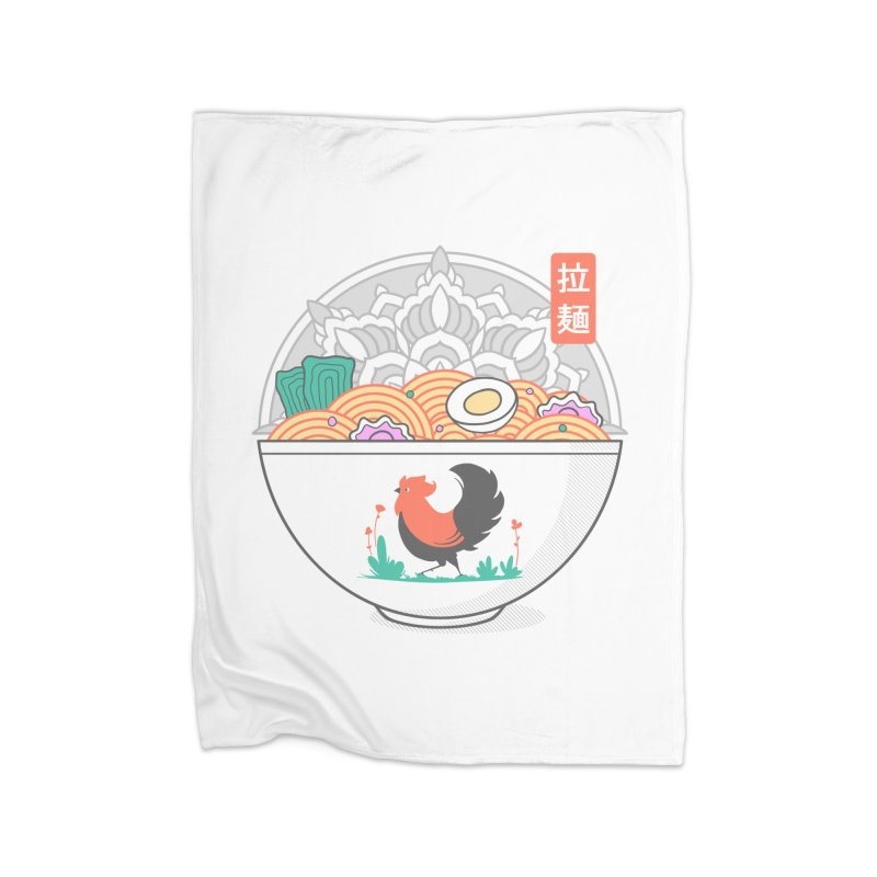 Sacred Ramen Home Blanket by godzillarge's Artist Shop