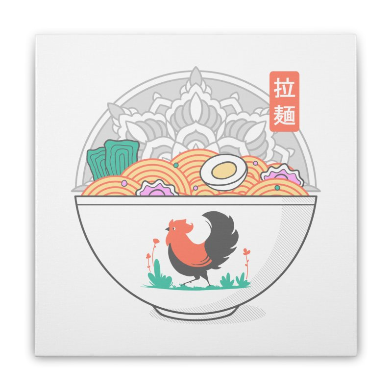 Sacred Ramen Home Stretched Canvas by godzillarge's Artist Shop