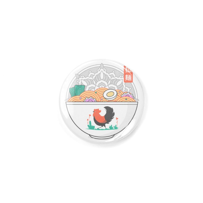 Sacred Ramen Accessories Button by godzillarge's Artist Shop