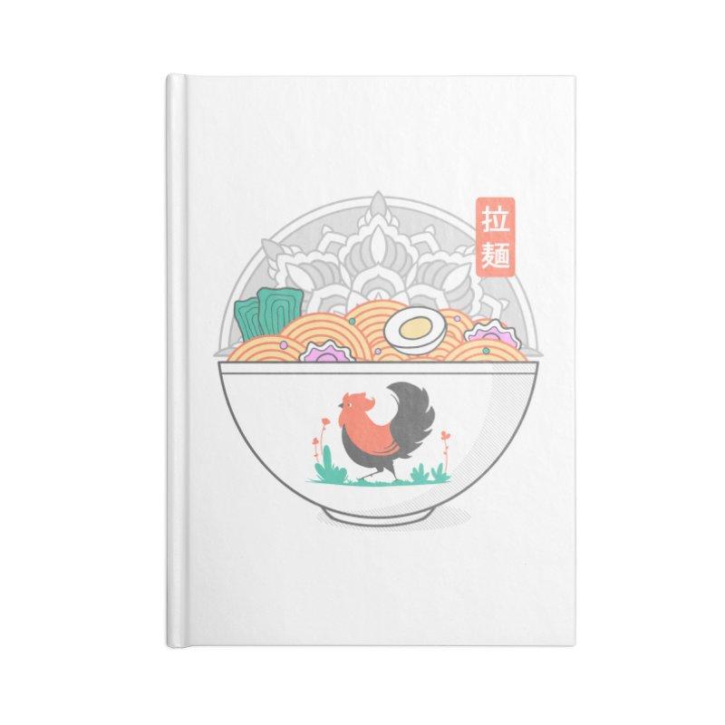Sacred Ramen Accessories Notebook by godzillarge's Artist Shop