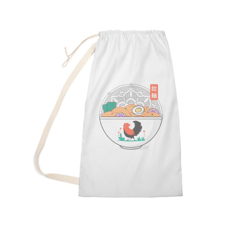 Sacred Ramen Accessories Bag by godzillarge's Artist Shop