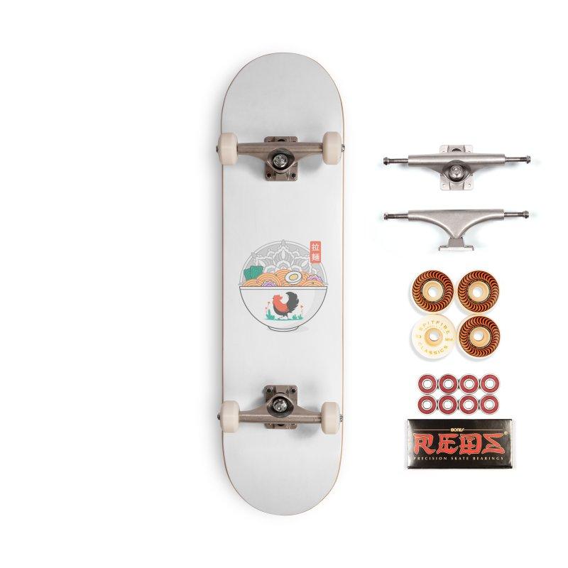 Sacred Ramen Accessories Skateboard by godzillarge's Artist Shop