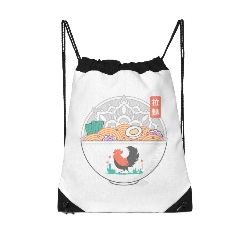 Sacred Ramen Accessories Bag by godzillarge's Artist Shop