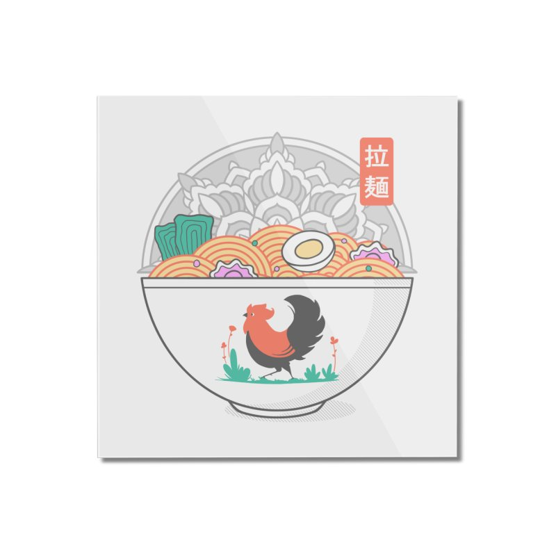 Sacred Ramen Home Mounted Acrylic Print by godzillarge's Artist Shop