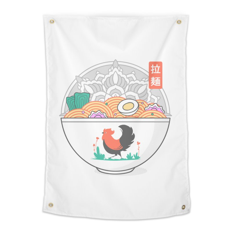Sacred Ramen Home Tapestry by godzillarge's Artist Shop