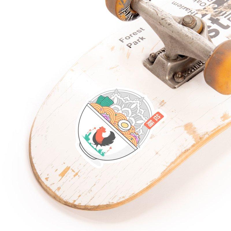 Sacred Ramen Accessories Sticker by godzillarge's Artist Shop