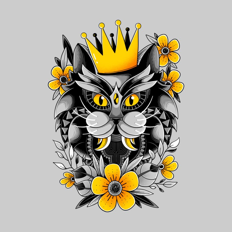 King of Purr Women's T-Shirt by godzillarge's Artist Shop
