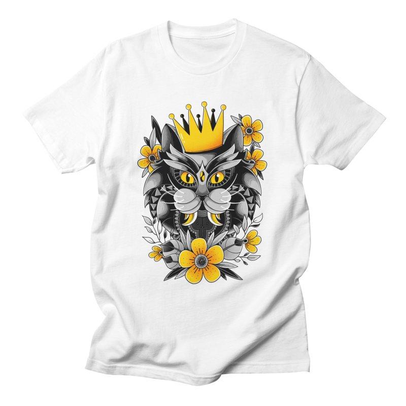 King of Purr Men's T-Shirt by godzillarge's Artist Shop