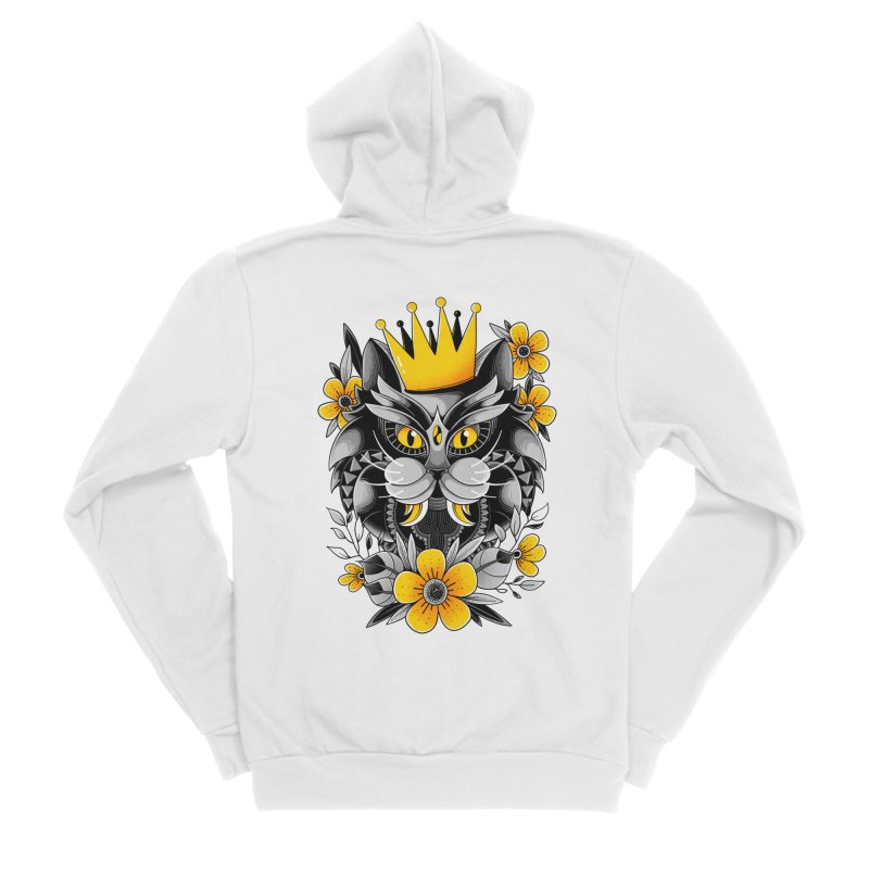 King of Purr Women's Zip-Up Hoody by godzillarge's Artist Shop