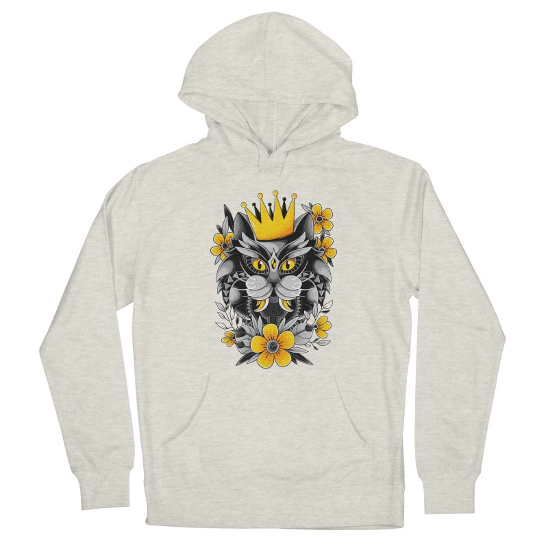 King of Purr Men's Pullover Hoody by godzillarge's Artist Shop