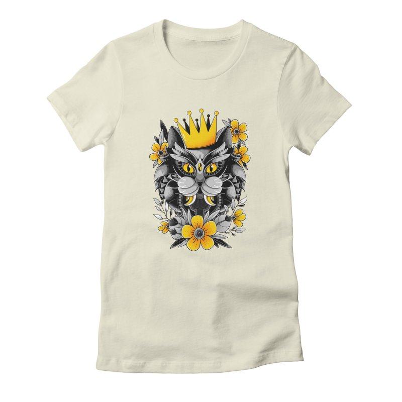 King of Purr Women's T-Shirt by godzillarge's Artist Shop
