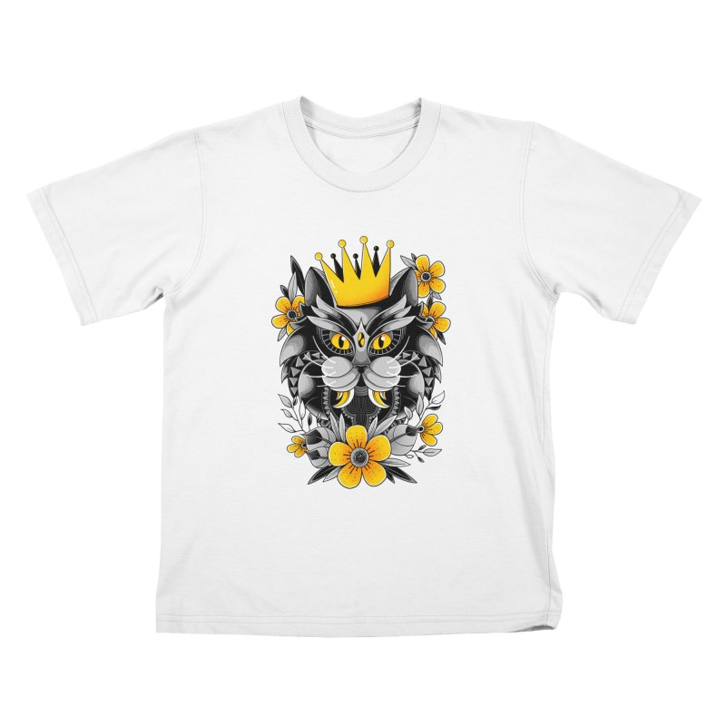 King of Purr Kids T-Shirt by godzillarge's Artist Shop