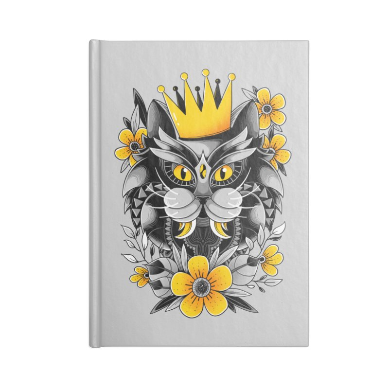 King of Purr Accessories Notebook by godzillarge's Artist Shop