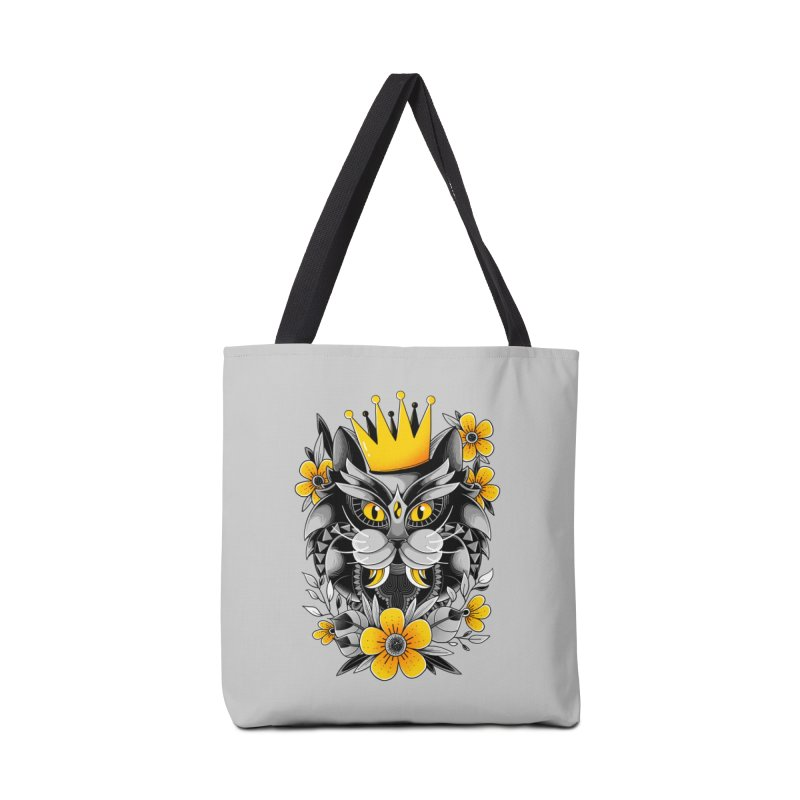 King of Purr Accessories Bag by godzillarge's Artist Shop