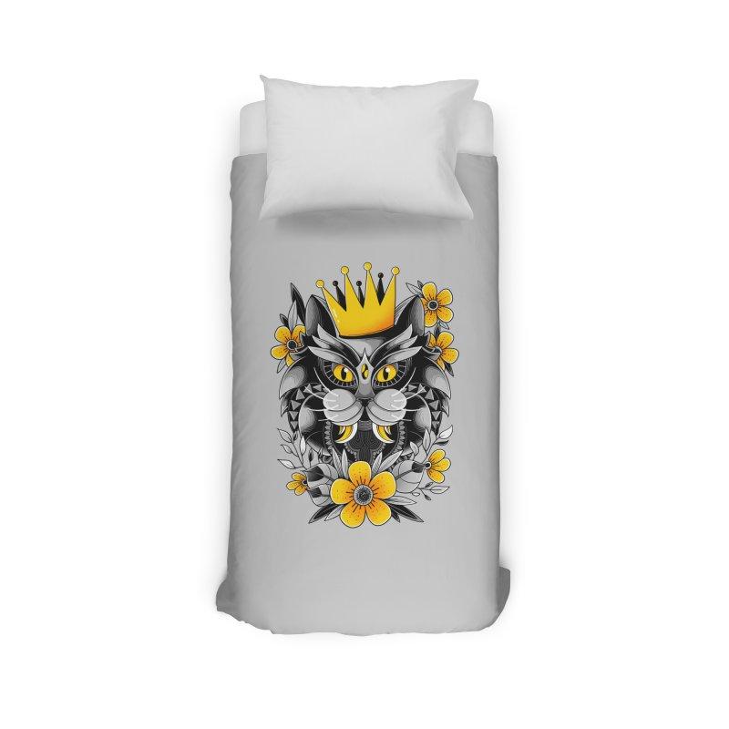 King of Purr Home Duvet by godzillarge's Artist Shop