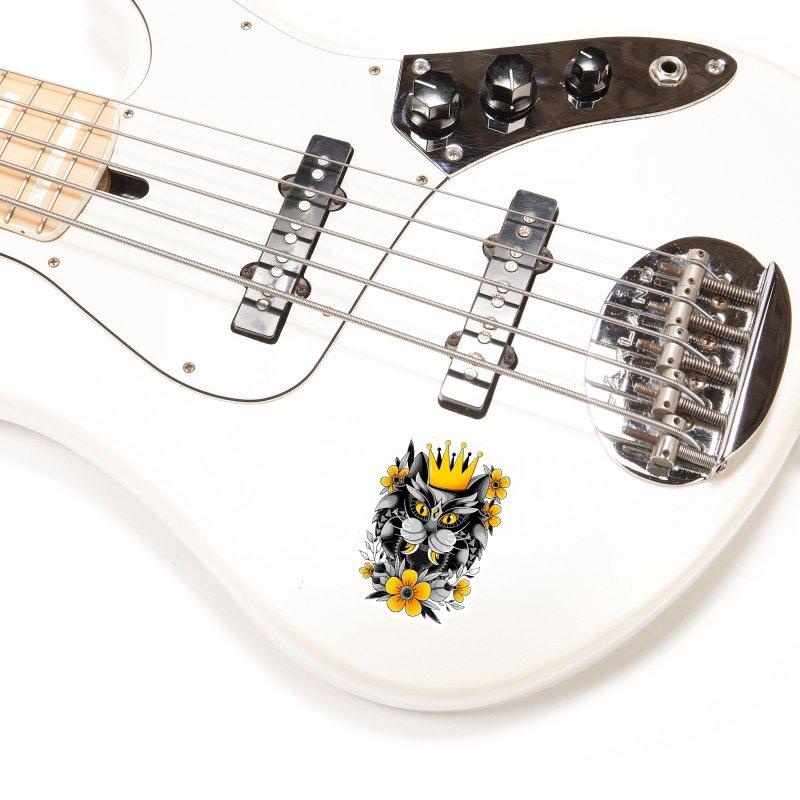 King of Purr Accessories Sticker by godzillarge's Artist Shop