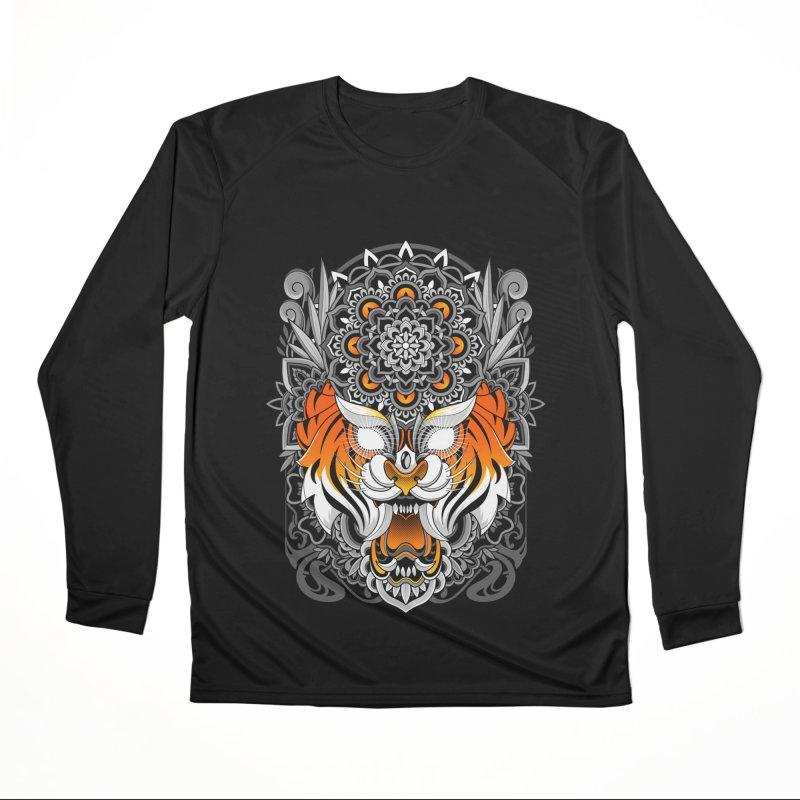 Tiger Mandala Men's Longsleeve T-Shirt by godzillarge's Artist Shop