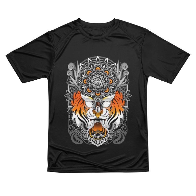 Tiger Mandala Women's T-Shirt by godzillarge's Artist Shop
