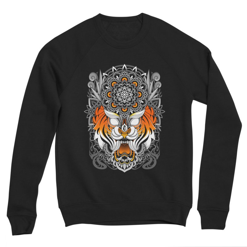 Tiger Mandala Women's Sweatshirt by godzillarge's Artist Shop