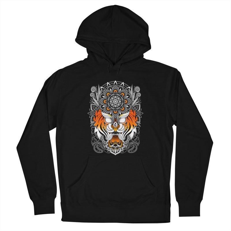 Tiger Mandala Men's Pullover Hoody by godzillarge's Artist Shop