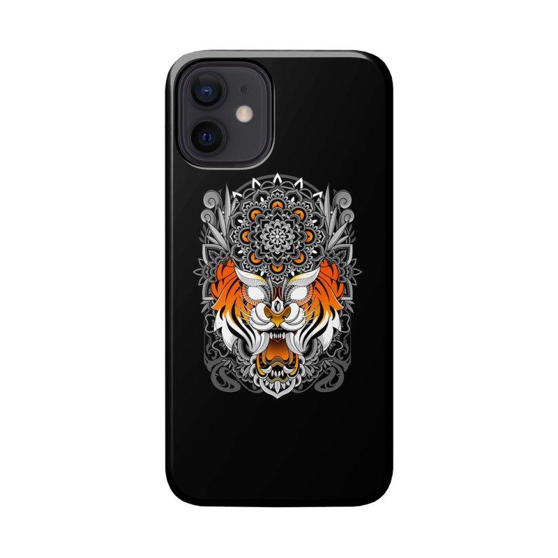 Tiger Mandala Accessories Phone Case by godzillarge's Artist Shop