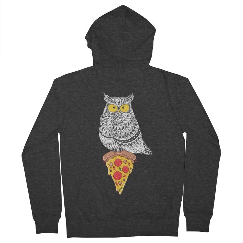 Midnight Snack Women's Zip-Up Hoody by godzillarge's Artist Shop