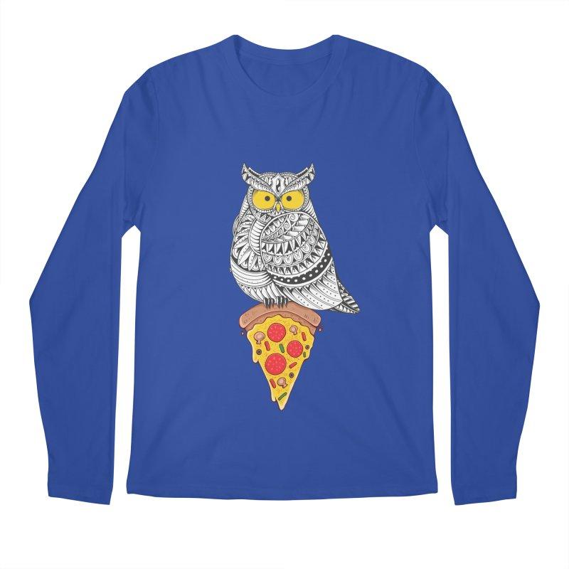 Midnight Snack Men's Longsleeve T-Shirt by godzillarge's Artist Shop
