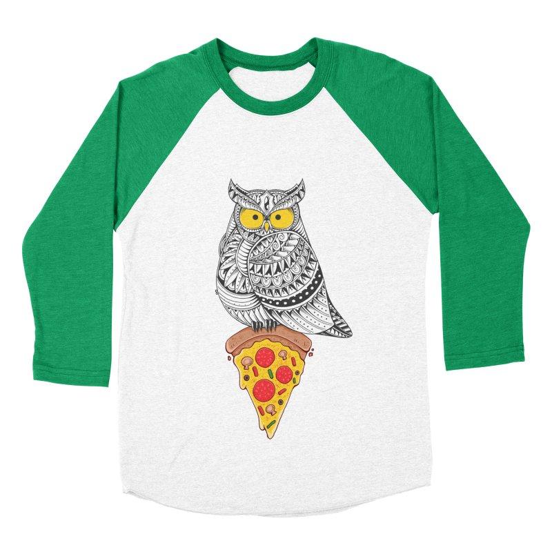 Midnight Snack Women's Baseball Triblend T-Shirt by godzillarge's Artist Shop