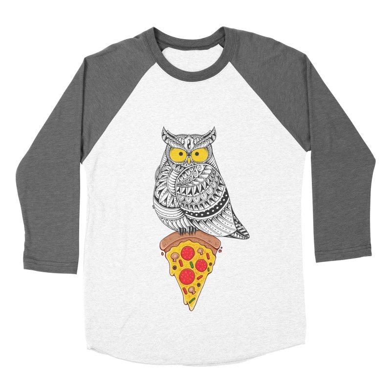 Midnight Snack Men's Baseball Triblend T-Shirt by godzillarge's Artist Shop