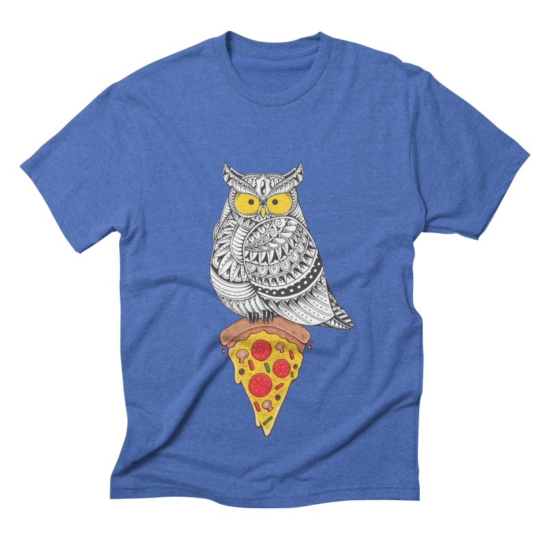 Midnight Snack Men's Triblend T-shirt by godzillarge's Artist Shop