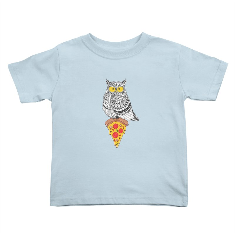 Midnight Snack Kids Toddler T-Shirt by godzillarge's Artist Shop