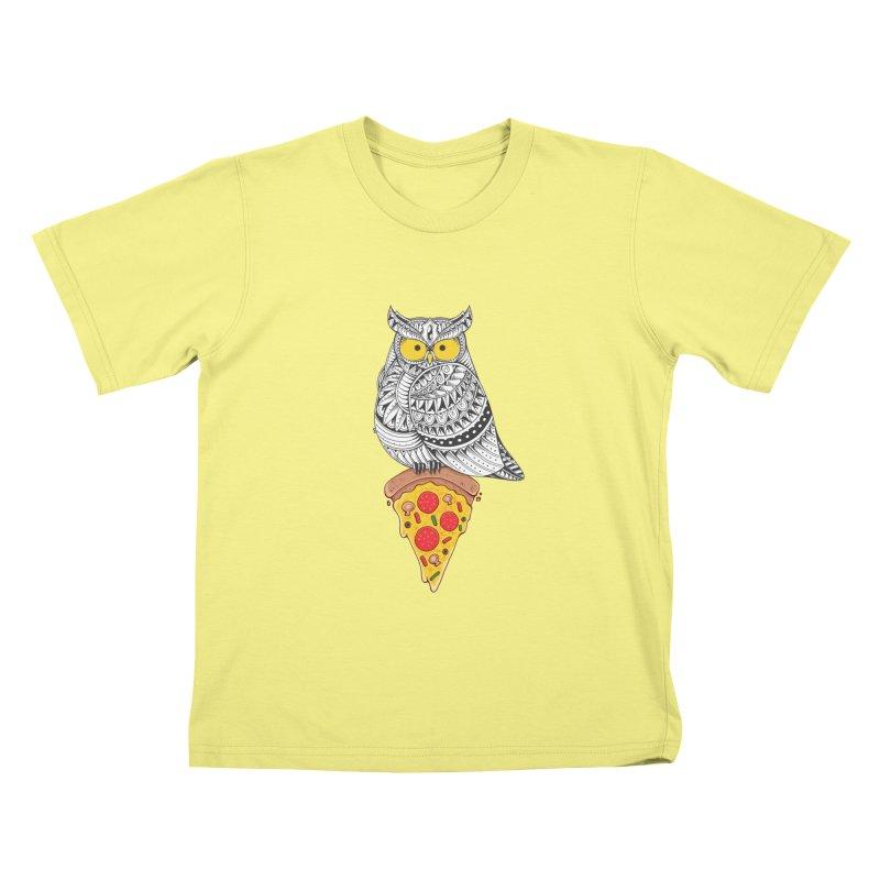 Midnight Snack Kids T-shirt by godzillarge's Artist Shop