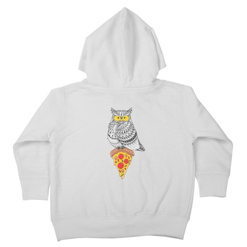 Midnight Snack Kids Toddler Zip-Up Hoody by godzillarge's Artist Shop