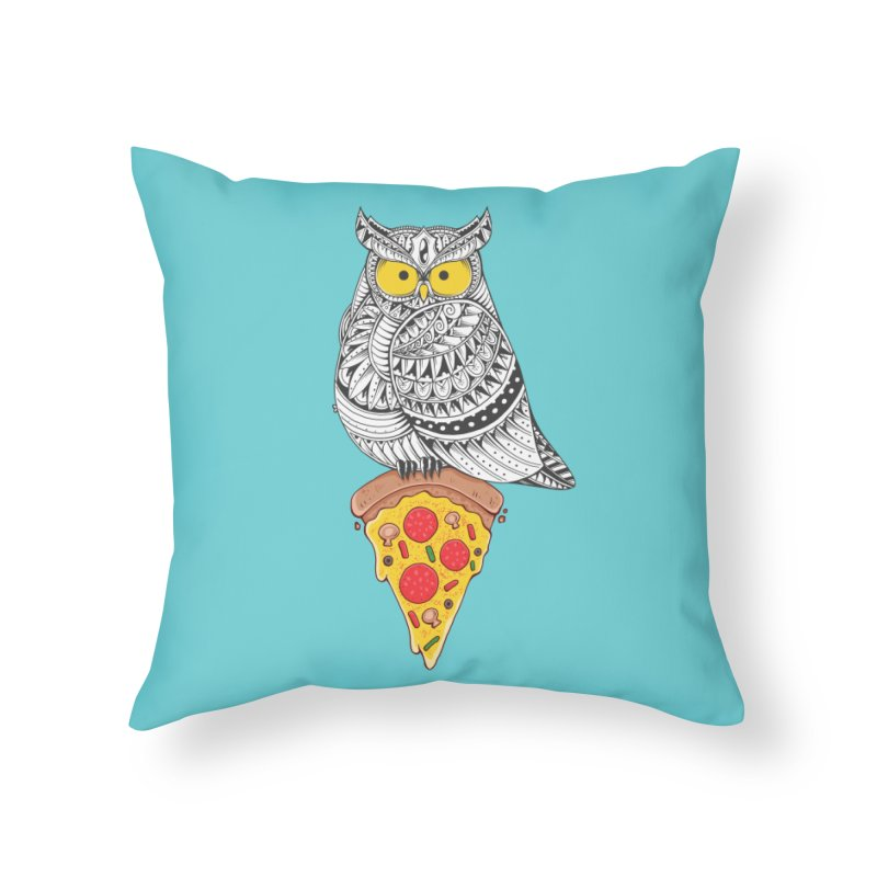 Midnight Snack Home Throw Pillow by godzillarge's Artist Shop