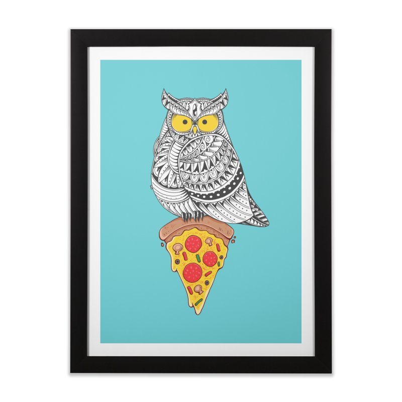 Midnight Snack Home Framed Fine Art Print by godzillarge's Artist Shop