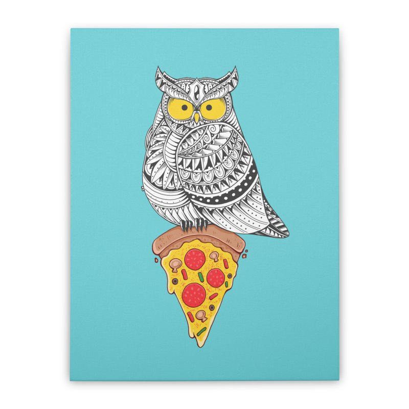 Midnight Snack Home Stretched Canvas by godzillarge's Artist Shop